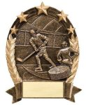 5 Star Oval Hockey 5 Star Oval Resin Trophy Awards