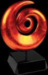 Orange Art Sculpture Award Achievement Awards
