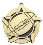 Football Super Star Medal  Gold Football Trophy Awards