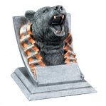 Bear Mascot Mascot Resin Trophy Awards