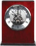 Rosewood Piano Finish Square Clock Sales Awards