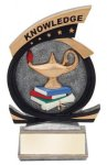 Gold Star Knowledge Award Scholastic Trophy Awards