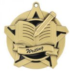 Writing Super Star Medal Scholastic Trophy Awards