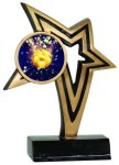 Insert Holder Infinity Star Resin Soccer Trophy Awards