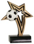 Soccer Infinity Star Resin Soccer Trophy Awards
