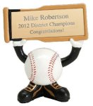 Ball Head Baseball Resin Figures Softball Trophy Awards