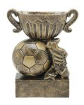 Sport Cup Soccer Antique Gold Sport Cup Resin Trophy Awards
