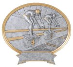 Legend Swimming Oval Award Swimming Trophy Awards