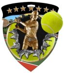 Tennis (Female) Medal Tennis Trophy Awards