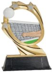 Volleyball Cosmic Resin Trophy Volleyball Trophy Awards