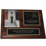 Solid Wood Missionary Plaque Walnut Plaques