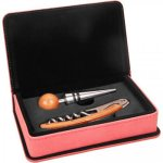 Pink Leatherette 2 Piece Wine Tool Set Wine Gifts