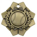 Imperial Baseball Medals Wreath Medal Awards
