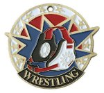 USA Sport Wrestling Medals Wrestling Trophy Awards